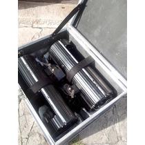 4 Scanners Martin Pro 518 Con 1 Controlador Y 2 Anvil