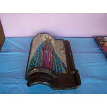 Telha Decorada Com Nossa Senhora De Aparecida.