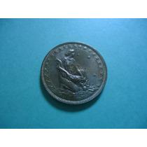 Moeda De 1000 Réis De 1927 Bronze Alumínio Rara No Estado Fc