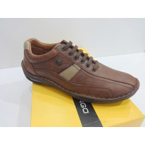Zapato 100% Cuero Ringo Evolutin 11 Color Marron