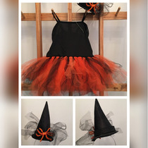 Disfraz Bruja Halloween Talle Del 2 Al 10 A Pedido