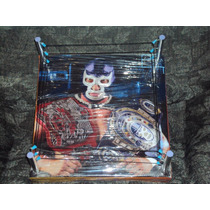 Ring De Lucha Libre Mas Grande Que Los De Mattel Blue Demon