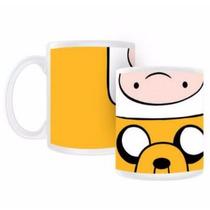 Taza Adventure Time, Hora De Aventura , Finn & Jake 250 Ml