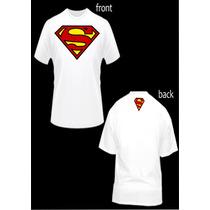 Franelas De Superman Sublimadas