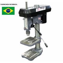 Furadeira Bancada Industrial 16mm 1/2hp Trif Bivolt Motomil