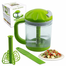 Cortador Fatiador Legumes Verduras Frutas Food Chopper