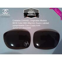 Cristales Chanel Modelo 6018 Originales Nuevos