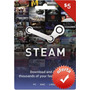 Steam Gift Card $5 En Pc Linux Mac Para Steam Valve Wallet