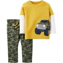 Playera Pantalon Carters Camuflaje Militar Envio Gratis