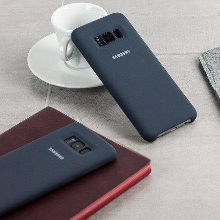 cdcb2a0e066 Capinha Original Silicone Cover Dark Gray Samsung Galaxy S8 - R  64 ...