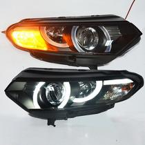 Farol Projector Barra Led Ford Ecosport 13/17 Black + Xenon