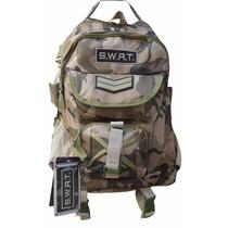 Mochila Tactica Camuflada Swat Simil 5.11 Militar Policia