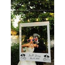 Marco Polaroid Gigante Cotillon Boda 15 Cumpleaños Fiestas