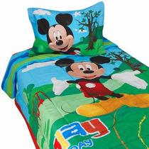 Edredon Infantil Mickey Mouse, Envió Gratis