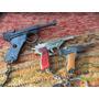 Lote De 3 Llaveros Pistola Revolver A Cebita