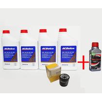 Kit Troca Oleo Acdelco 5w30 + Militec + Filtro Escort Zetec