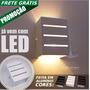 Kit 20 Arandela Led Frisada C/ Lâmpada Luminária Externa