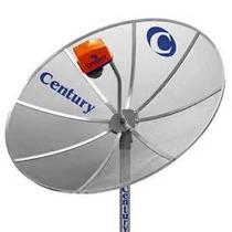 Antena Parabólica Century, 1,70 Mt, Completa