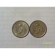Mexico 25 Centavos Plata 1952 Y 1953 6,7 Gr