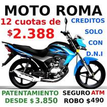 Jianshe 125 0km Moto Roma 5263-7662
