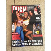 Revista Quem Caio Castro Carolina Ferraz Bruna Marquezine