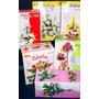 30 Moldes Tickas P/flores Goma Eva Rosas + 2libros Digital.