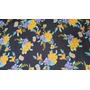 Ref. 65 - Floral Amarelo Fundo Preto