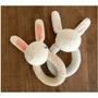 Sonajero Crochet Conejo
