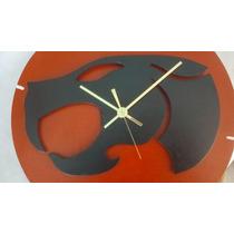 Reloj De Pared De Madera Thundercats