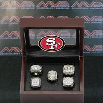 Nfl San Francisco 49ers Super Bowl Set Anillos De Campeonato
