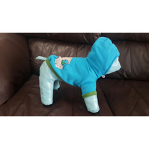 Sudadera Azul Bi Color Para Perro