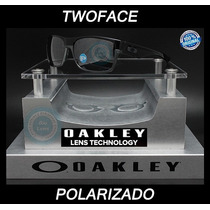 Oakley Two Face 9189 - 01 Black Mica Black Iridium Polarized