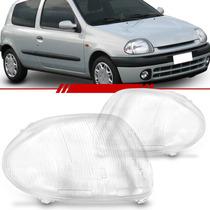 Lente Farol Clio 03 02 01 00 99 2003 2002 A 1999 Renault
