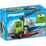 Retromex Playmobil 6109 Camion D Contenedores Ciudad Basura