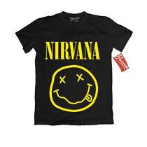 Playera Nirvana Oficial Rock Grunge Envio Dhl Gratis