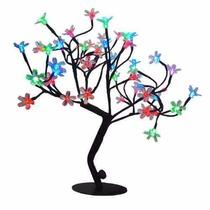 Arvore De Natal Cerejeira Multicolor Led Linda Papai Noel