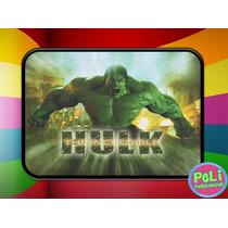 Cartuchera 2 Pisos Personalizada Increible Hulk Vengadores