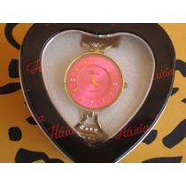 Relógio Feminino Cor Rosa - Importado -n17