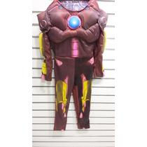 Disfraz De Iron Man Nuevo Original Carnavalito Sellado