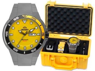 68f2fef6873 Relógio Orient Seatech 500m 469ti003 Amarelo Garantia E Nf - R  998 ...