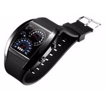 Reloj De Pulso Touch Aviador F450 Color Negro