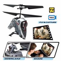 Helicoptero -air Hogs Video Camara Hawk Eye