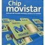 Chip Sim Linea Movistar Celular Navegacion Internet Datos