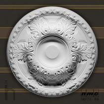 Roseta Em Poliuretano Para Teto / Lustre Arstyl R18 - 600mm
