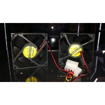 Fan Cooler Ventilador Extractor 8cm X 8cm Remate Leer
