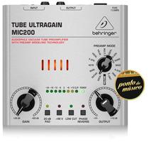 Pré Amplificador Behringer Tube Ultragain Mic200 Valvulado