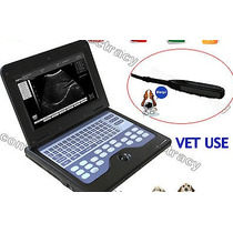 Ultrasonido Portatil Veterinario Con Transductor Rectal 7.5