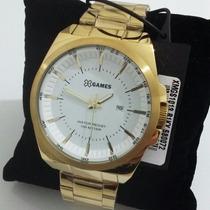 Relógio X Games Dourado Xmgs1013 B1kx - Masculino