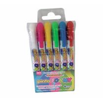 Pinta Foamy Crayon Foami Fomi Foami Estuche D 6 Pzas Pascua