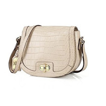 Bolso Lauren Ralph Lauren Lanesborough Medio Crossbody - Pi